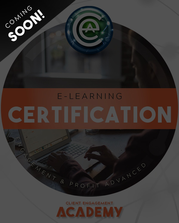 E-Learning Engagement And Profit Certification course image